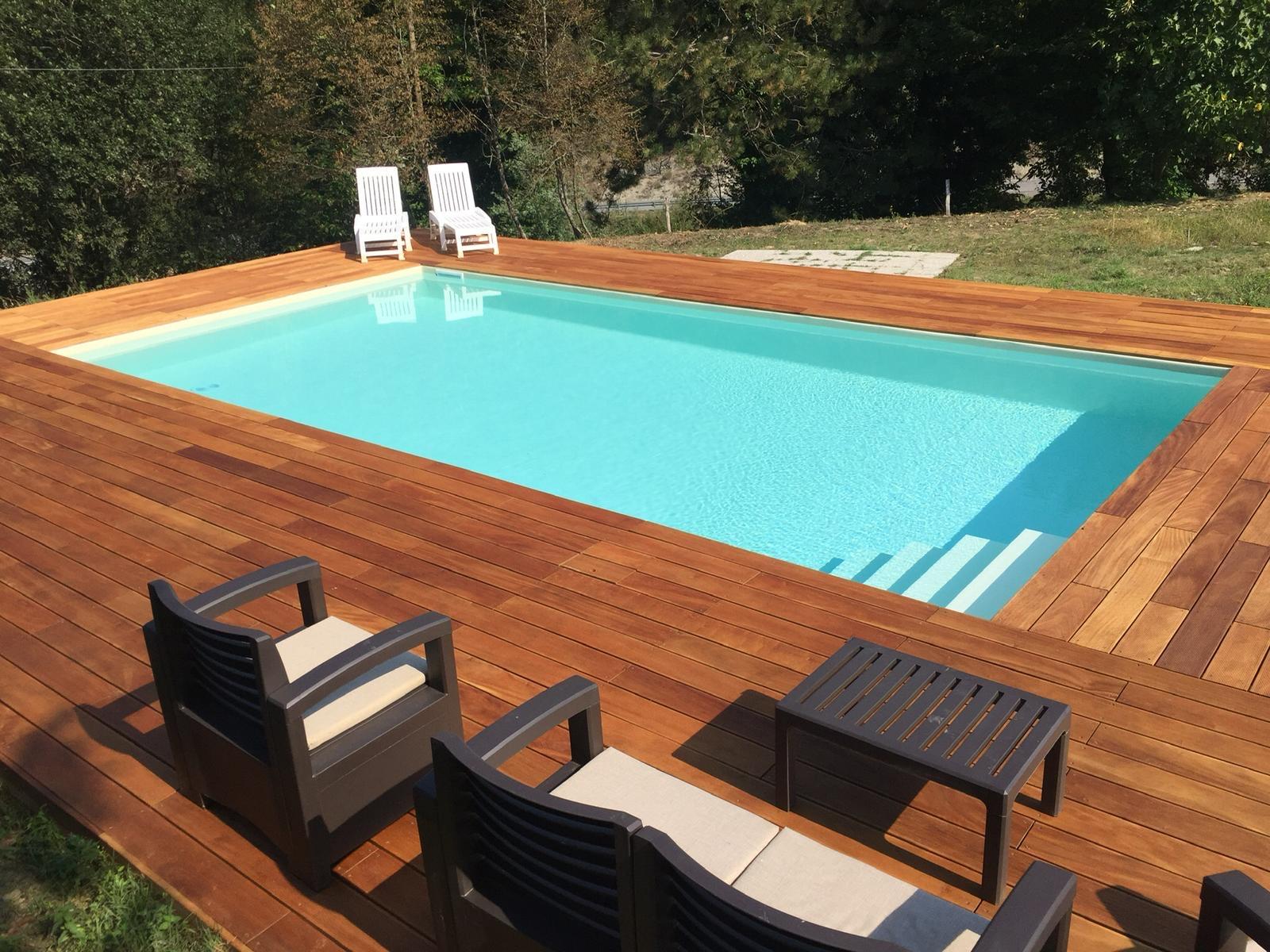 La piscina fuori terra può essere più duratura di una interrata?